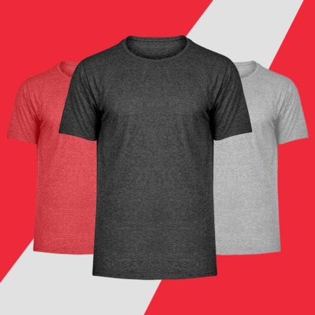 Herren Melange Shirts